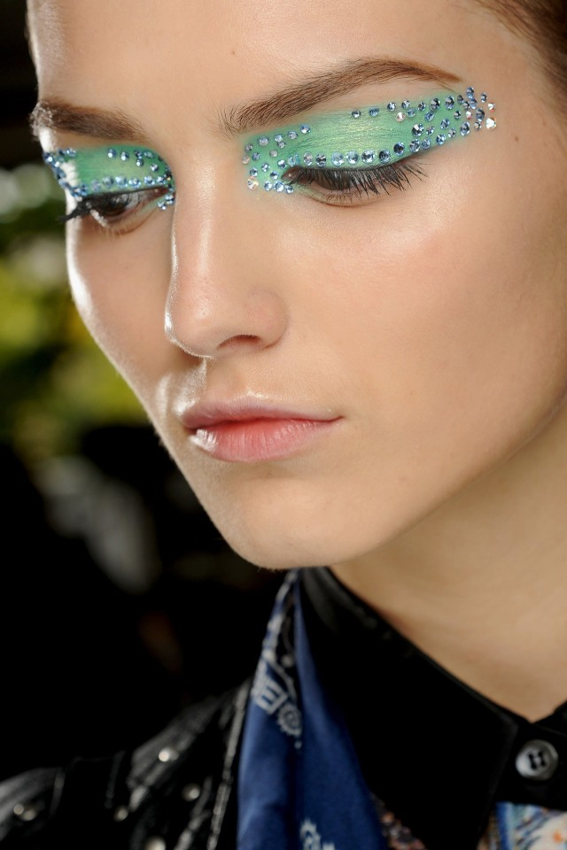Christian Dior Jewel Eyes Summer 2013 Makeup Trends