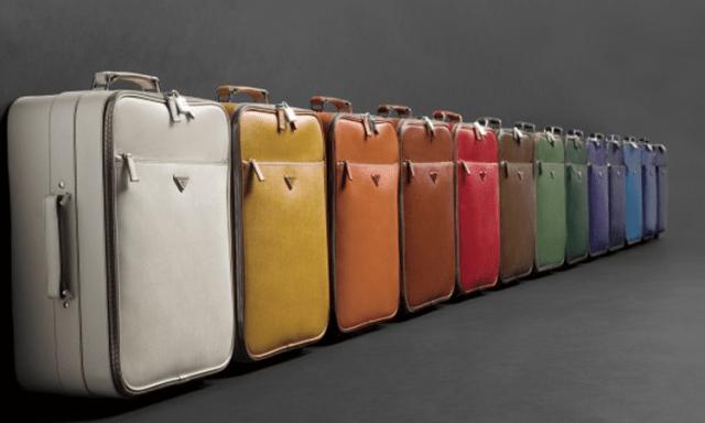 Prada Luggage Trolleys