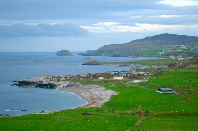 malin head scenery
