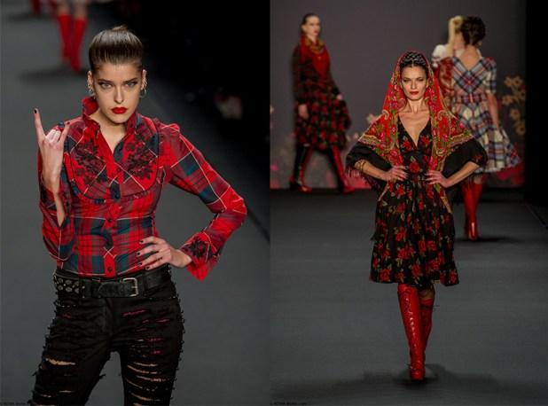 Lena Hoschek Fashion Week Berlin 2013 - 1