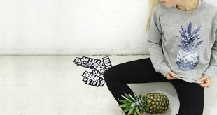lala Berlin – Space Pineapple Sweater
