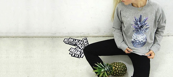 lala Berlin – Space Pineapple Sweater
