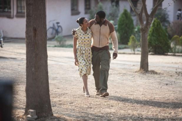 Idris Elba und Naomie Harris (Senator Film)