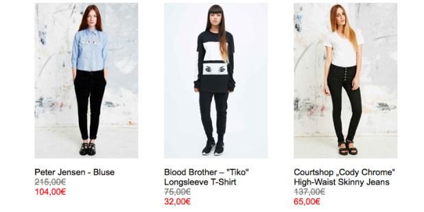 Urban Outfitters - Mid Season Sale mit 50% RABATT und mehr