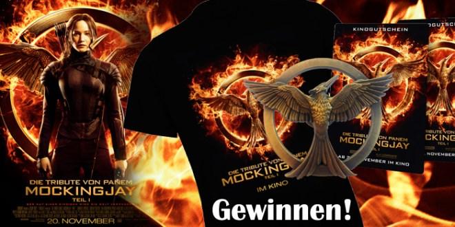Tribute von Panem-Jennifer Lawrence-Mockingjay-Gewinnspiel-Kino-Film