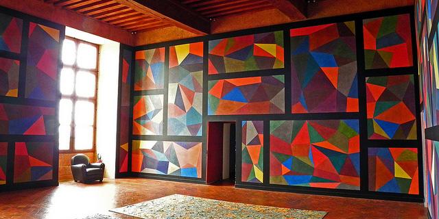 Kunst an der Wand