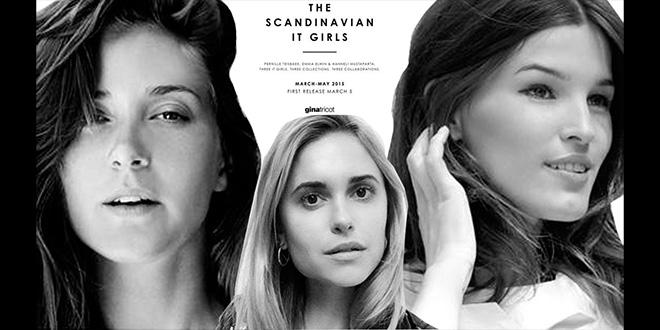 Gina Tricot - Skandinavische It-Girls Frühjahrskollektion 2015
