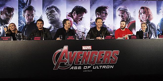 Marvel Avengers: Age Of Ultron Pressconference