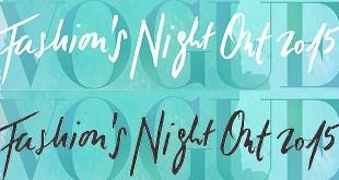 Vogue Fashion's night out 2015 VFNO