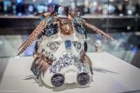Marcel Ostertag Star Wars: Stormtrooper Helm-Ausstellung mit Berliner Fashion Designer