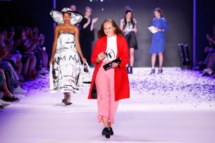 'Designer for Tomorrow' hosted by Alber Elbaz Award Show - Mercedes-Benz Fashion Week Berlin Spring/Summer 2017