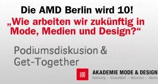 10 Jahre AMD Berlin Feier Podiumsdiskussion