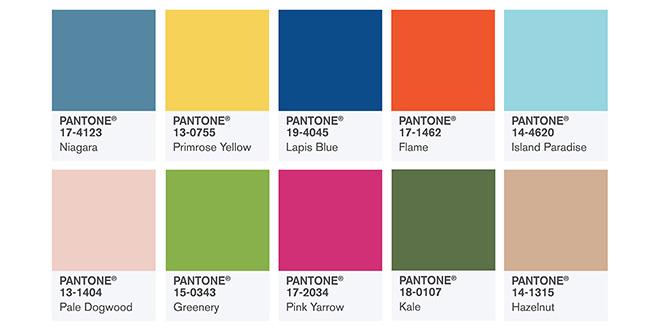 trendfarben fr hjahr 2017 pantone fashion color report mode shopping designer trends
