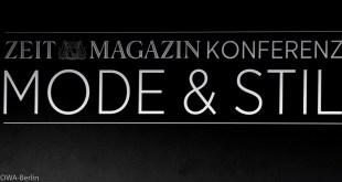 ZEITmagazin-Konferenz Mode und Stil 2017