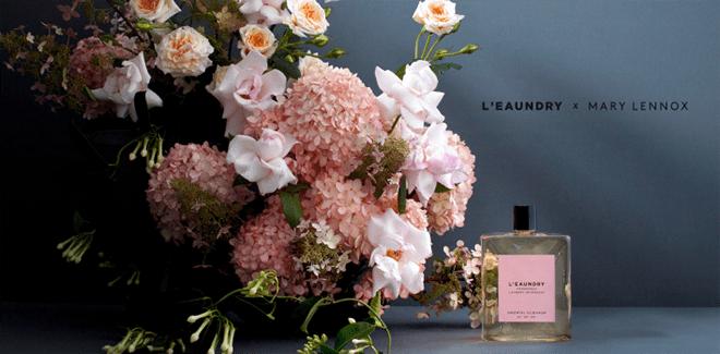 Luxuswäschepflege L'EAUNDRY x MARY LENNOX