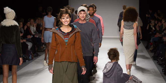 ethical fashion on stage Herbst Winter 2017 MBFW AW17