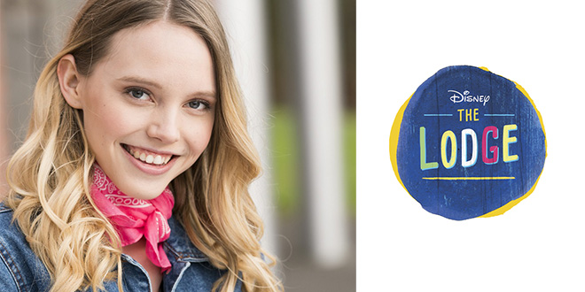 Lina Larissa Strahl In Der Disney Channel Serie The Lodge Mode
