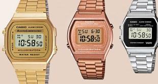 Retro-Uhren Casio