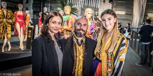 Stefanie Giesinger Hommage to Gianni Versace Show and Order Berlin Alexandre Stefani