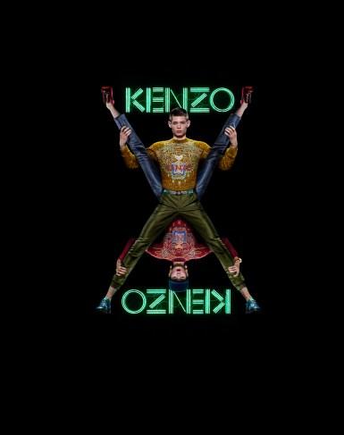 Kenzo Paris, 2011 ©Jean-Paul Goude