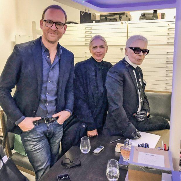 "Karl Lagerfeld Interview - Elbphilharmonie -""Métiers d'Art""-Show"