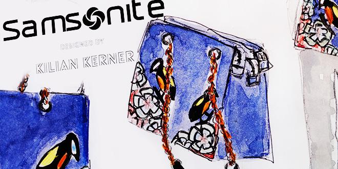 Kilian Kerner x Samsonite – Kater-Imbiss zur Berlinale
