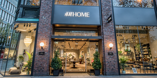h m home concept store filialen hamburg und m nchen er ffnet mode shopping designer trends. Black Bedroom Furniture Sets. Home Design Ideas