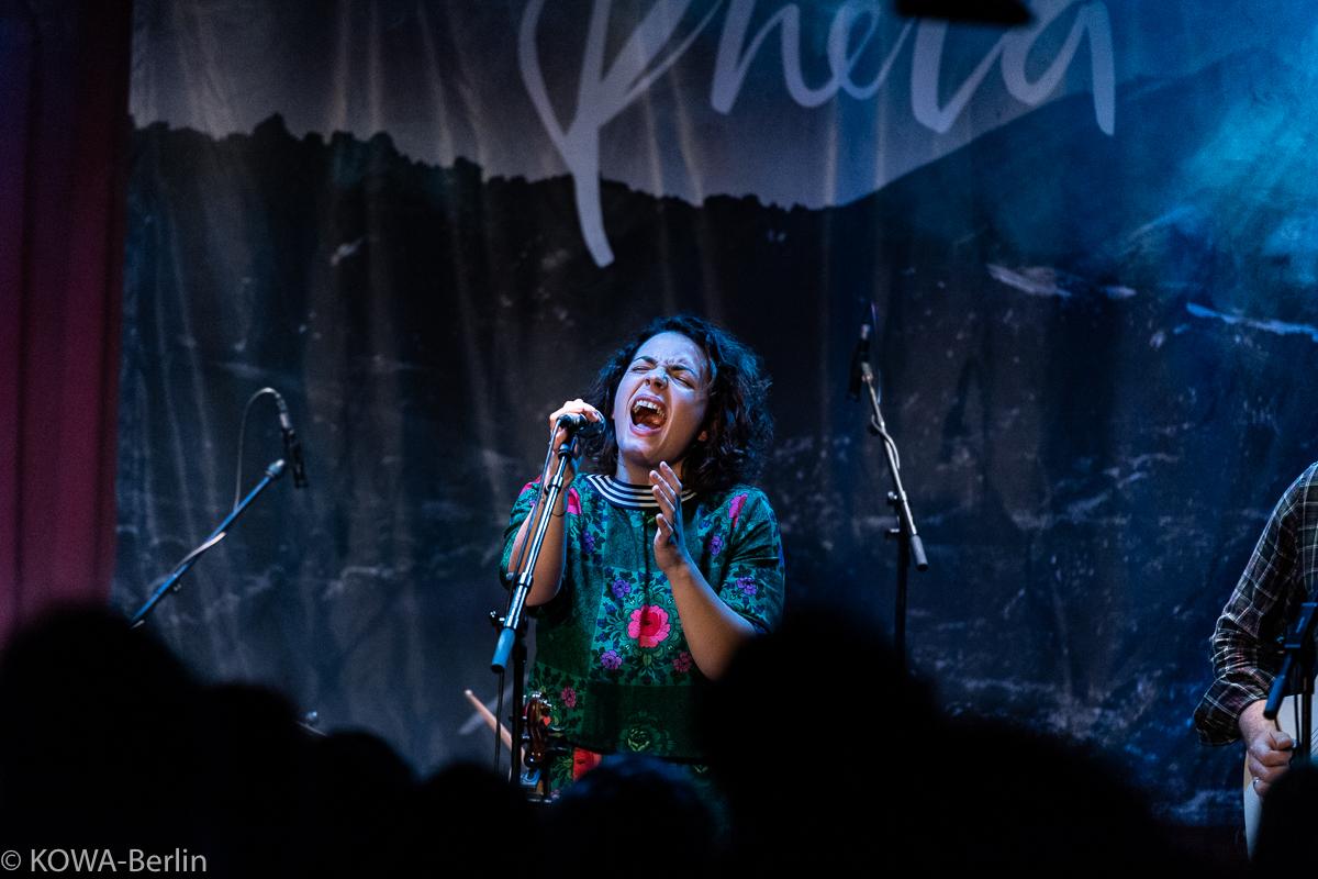 Phela Konzert im Privatclub Berlin Dezember 2018