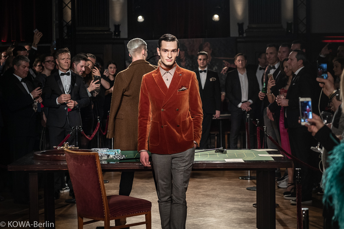 SAVILE ROW by CG – CLUB of GENTS für den Herbst Winter 2019 all in Casino Event