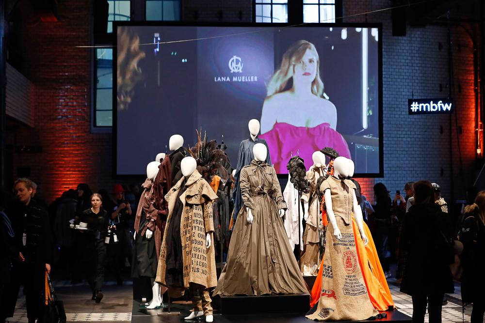 I'VR Isabell Vollrath Herbst Winter 2019 MBFW Berlin