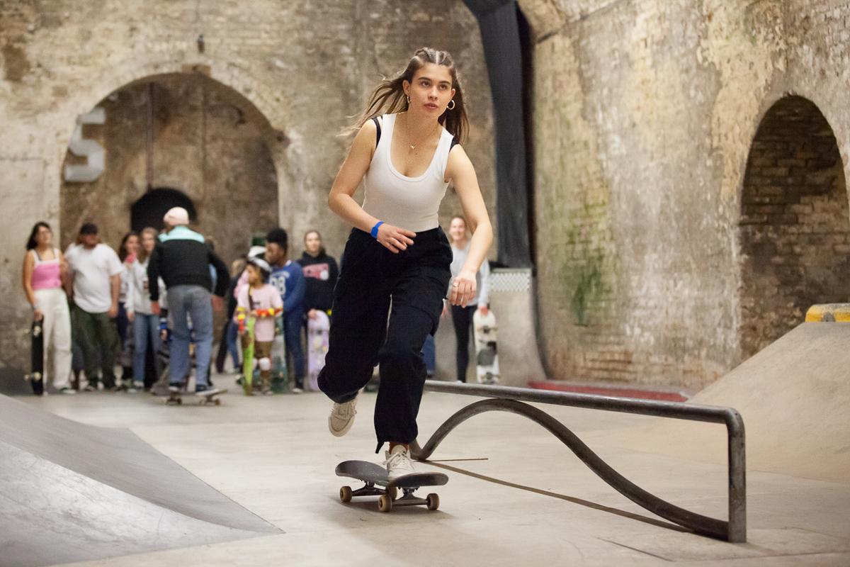 Skateboarding VANS Berlin 2019