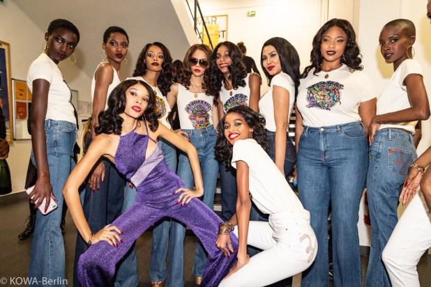 Tommy X Zendaya Fashion Show mit Paris Fashion Week Fall Winter 2019