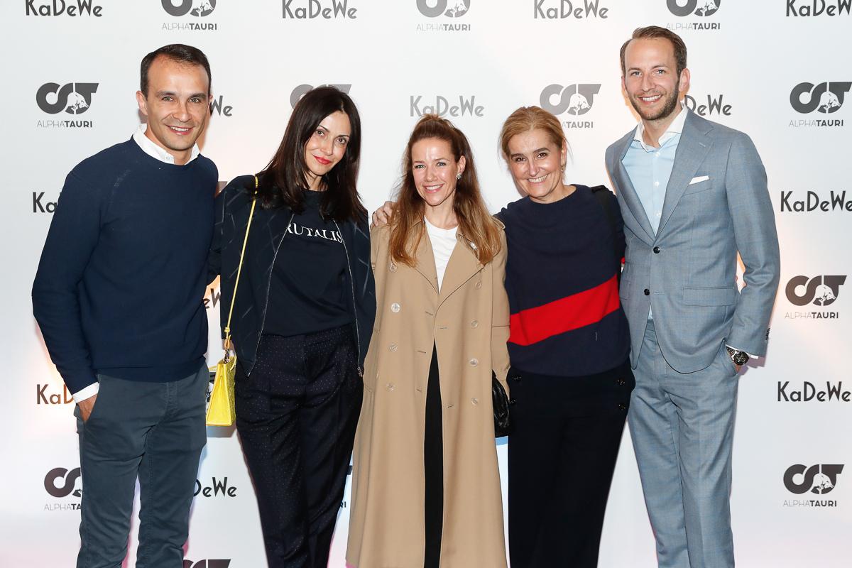 AlphaTauri - Red Bull macht Mode kadee Anita Tillmann, Alexandra Neldel