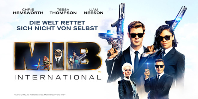 MEN IN BLACK: INTERNATIONAL - Gewinnspiel