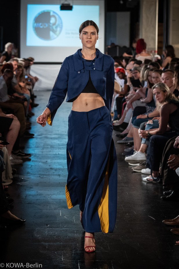 Lina Dreyer - Die Reiter Modeschule Berlin-Abschlussmodenschau 2019