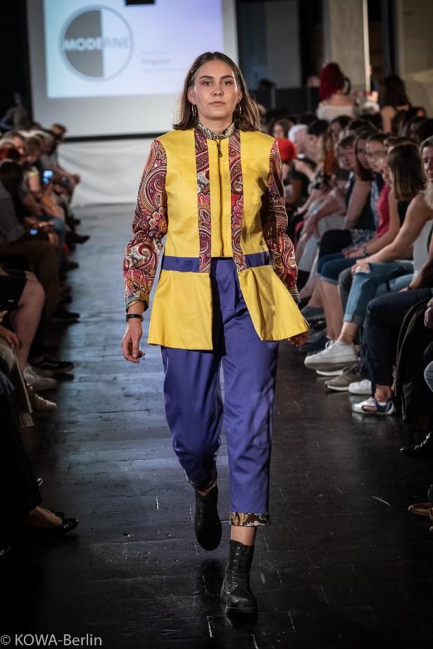 Michelle Ritzmann - Singular Modeschule Berlin-Abschlussmodenschau 2019
