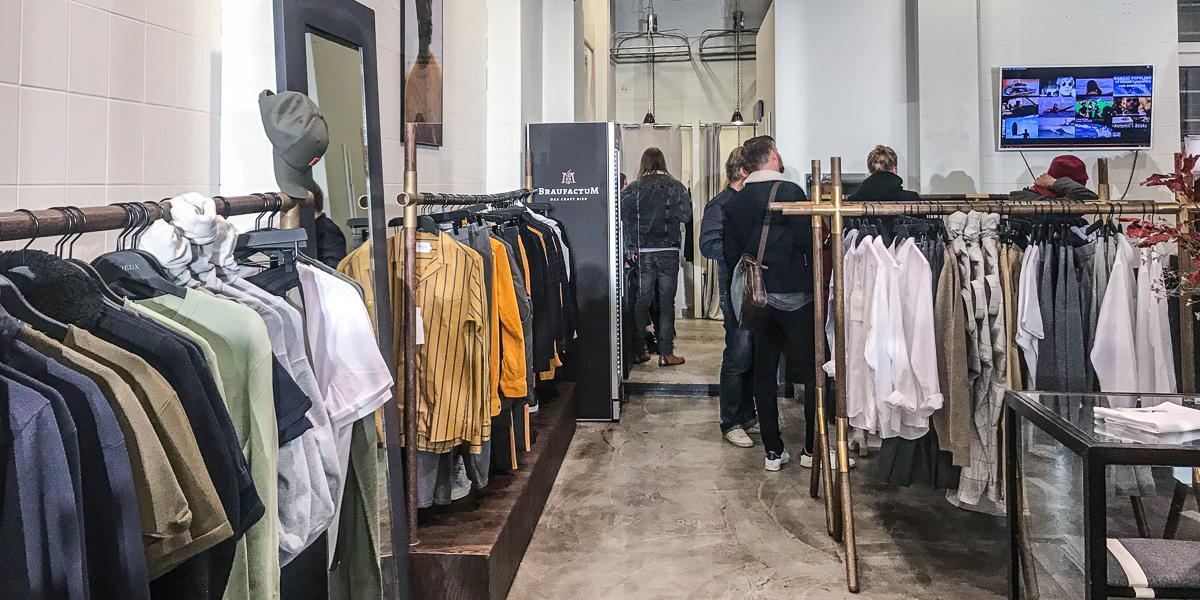 LES DEUX Opening Pop-Up Store Berlin