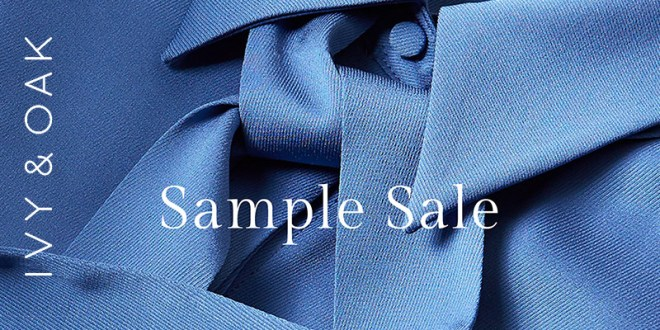 IVY & OAK Sample Sale 70 % Rabatt