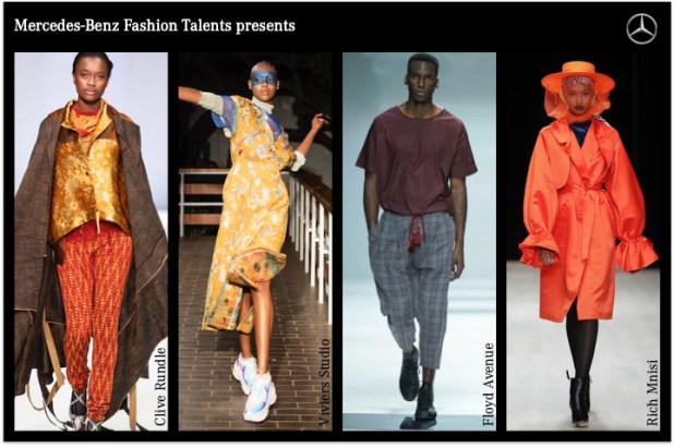 Designer Südafrika MBFW Berlin AW 2020 Kraftwerk Clive Rundle, Floyd Avenue, Viviers Studio und Rich Mnisi.