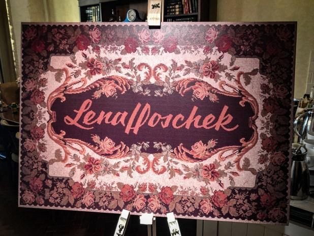 Lena Hoschek Showroom AW 20/21