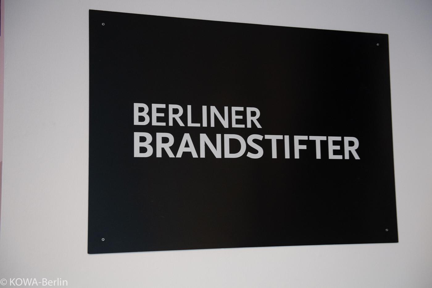 Berliner Brandstifter X Sven Marquardt - Kunstedition