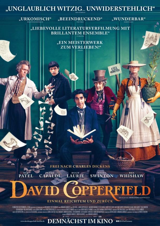 DAVID COPPERFIELD – Einmal Reichtum und zurück - Gewinnspiel