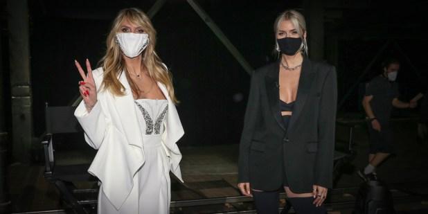 Heidi Klum, Lena Gercke ABOUT YOU Fashion Week 2021 - AYFW 2021