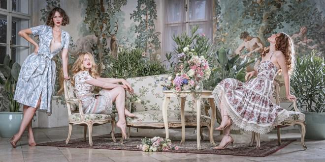 Lena HoschekSpring/Summer 2021 Kollektion – Antoinette's Garden