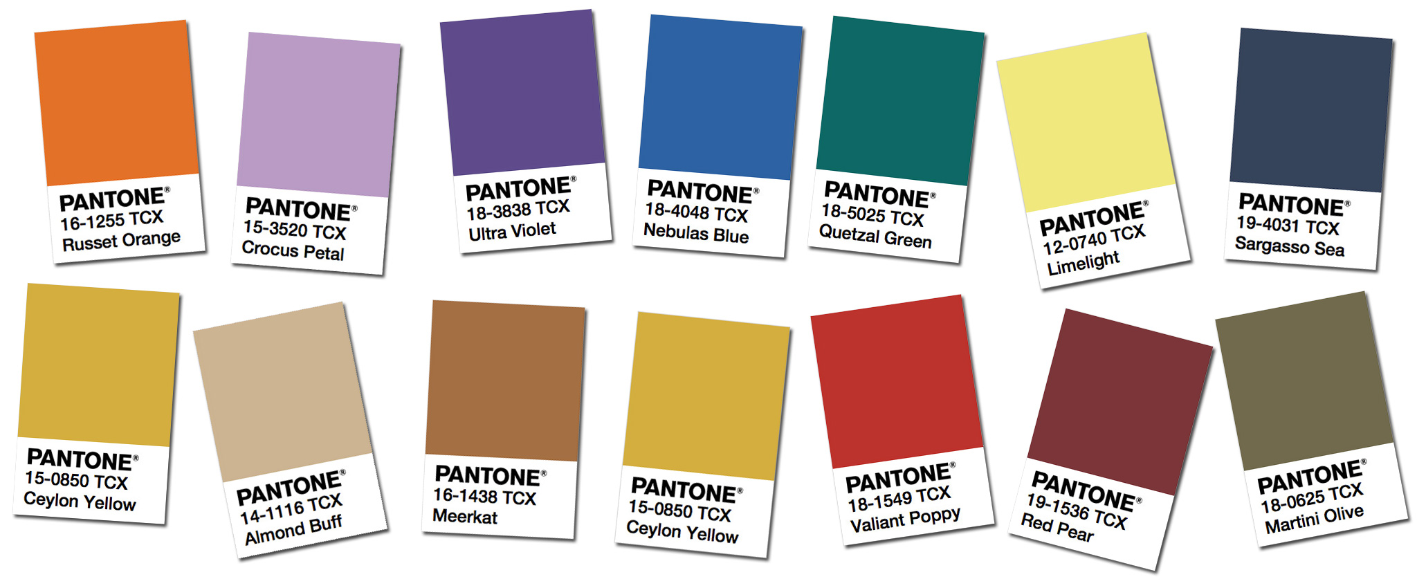 Resultado de imagen de FALL AND WINTER  PANTONE COLOR PALETTE NEW YORK FASHION WEEK