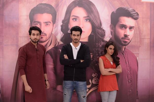 Iqra Aziz Amp Bilal Abbas At The Nida Yasir Morning Show Pakistani Drama Celebrities