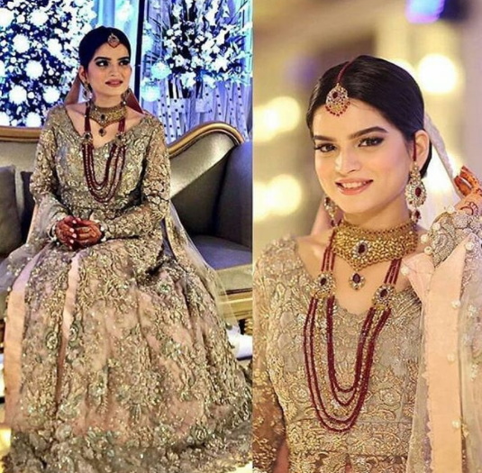 Beautiful Walima Reception Pictures Of Syeda Alizey Raza Fatima Pakistani Drama Celebrities