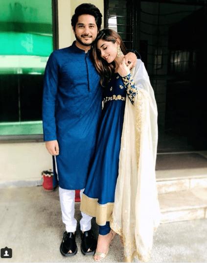 Beautiful Iqra Aziz And Maya Ali Celebrating Eid Pakistani Drama Celebrities