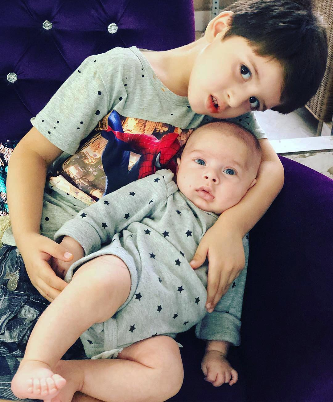 Awesome Shots of Mahbir - Baby of Fatima Effendi and Kanwar Arsalan