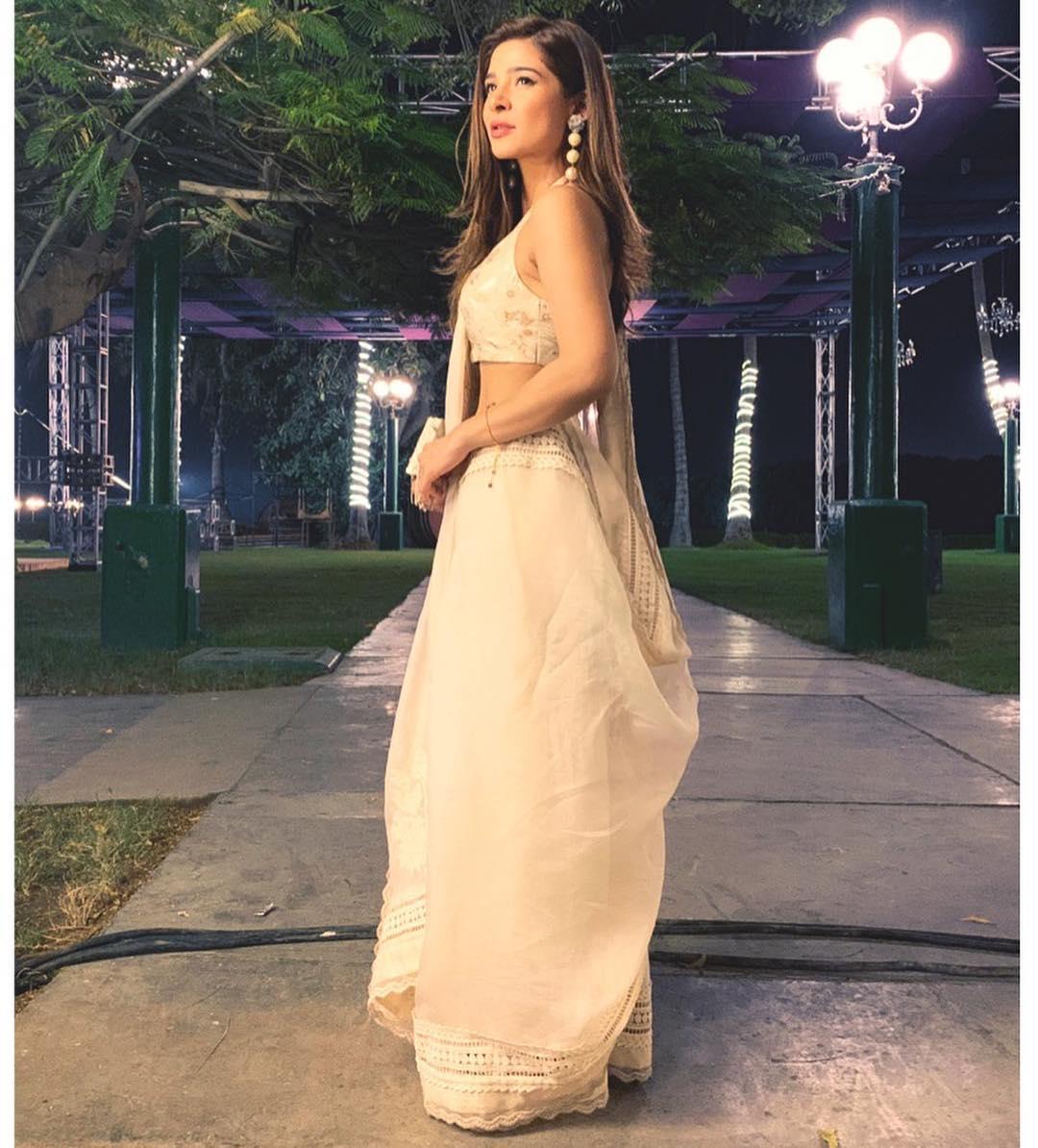 Latest Clicks Of Ayesha Omar At Beach Luxury Hotel Karachi